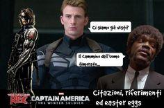 TWR Captain America: The Winter Soldier, citazioni, riferimenti ed easter eggs