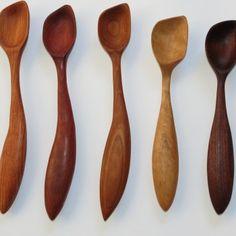 Deep Scooping Spoon | Morel Wood Carving
