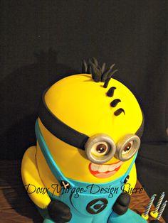 Gâteau Minion  Minion cake