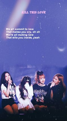 This Love Lyrics, Individuality Quotes, Korean Pop Group, Blackpink Video, Song Play, Twice, Bts Korea, Blackpink And Bts, Blackpink Photos
