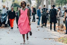 Tommy Ton Shoots Street Style at the Spring 2015 RTW Shows.