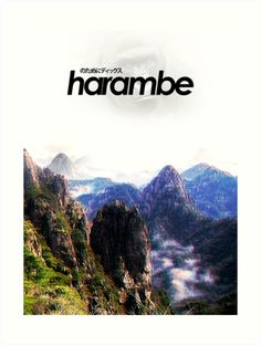 Harambe Mountains Movie Poster