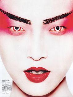 Vogue China - The Grand Masters// Mario Testino (Peruvian 1954- )