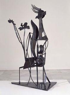 Femme au jardin. Picasso, 1930