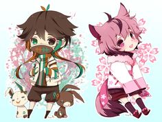 Chibi commission batch06 by inma on DeviantArt