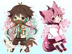cute chibi animes - Pesquisa Google