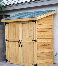 55 ideas for DIY garden house ideas ana white # for Diy Storage Shed Plans, Storage Building Plans, Building A Shed, Storage Sheds, Small Storage, Easy Storage, Extra Storage, Building Homes, Building Design