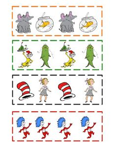 Preschool Printables: Dr. Seuss