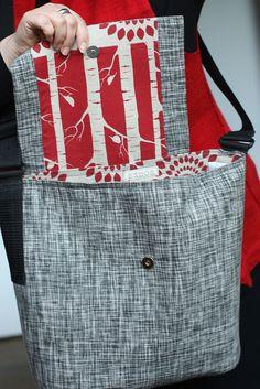 linen bag by Soozs, via Flickr