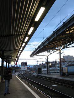 Train Platform, Lausanne