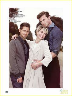 Chelsea Kane, Derek Theler & Jean-Luc Bilodeau Cover 'Bello' September 2013 | chelsea kane baby daddy bello cover 03 - Photo
