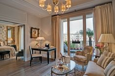 The Luxurious New Retreat in the Heart of Milan's Fashion District | Palazzo Parigi suite | FATHOM