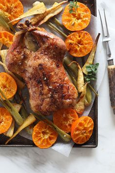 Duck is juicy and tender if cooked well. The ClemenGolds give a sweet citrusy flavour that cuts through the richness of this meat. Recipe Ratings, Fennel, Tray Bakes, Tandoori Chicken, Roast, Turkey, Stuffed Peppers, Meals, Dishes