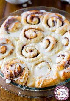 Cinnamon rolls - America- Rotolini alla cannela