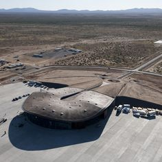 Spaceport America by Foster + Partners