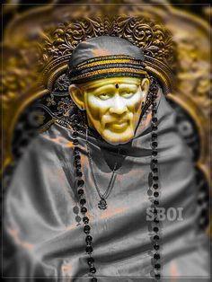 Shirdi Sai Baba Sai Baba Pictures, God Pictures, Ganesh Bhagwan, Shirdi Sai Baba Wallpapers, Sai Baba Hd Wallpaper, Hindu Deities, Hinduism, Samantha Images, Sai Baba Quotes