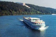 Rhine River This is the ship that cruises the Rhine..so much fun!
