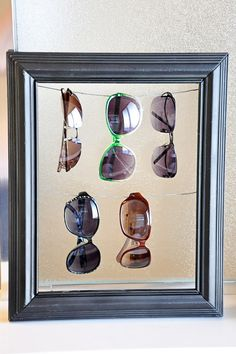 Sunglass Storage Solution