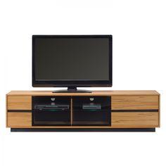 TV-Lowboard ML 285 (inkl. Beleuchtung) - Kernbuche Dekor