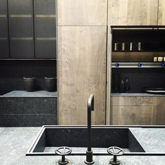 "133 Likes, 3 Comments - LUANA mahfouz (@adg_interiors) on Instagram: ""Industrial kitchen by Doca- a masterpiece of detailing and material !!! @isaloniofficial…"""