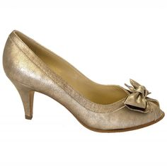 Satyr evening peep toe shoes