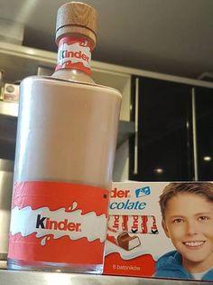 Kinder Csoki likőr Vodka, Coffee, Drinks, Cooking, Tableware, Diy, Food, Kids, Kaffee