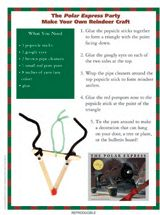 Make Your Own Reindeer Decoration | DIY Holiday Crafts | Christmas Printables https://www.teachervision.com/christmas-activities/printable/75606.html