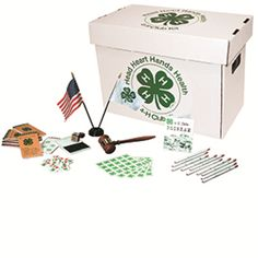 The 4-H Club Starter Kit. Must have! I want Kade to enjoy 4-H as much as I did
