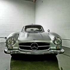 Mercedes Benz #300SL #Gullwing (via varganator/instagram) / #300SLRestorations #BruceAdams190SL