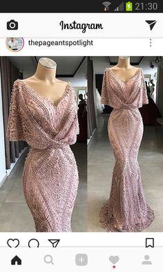 Gorgeous Floor Length Prom Dress Metallic Lace Special Occasion Gown with Flutter Sleeves and Beaded Elegant Dresses, Pretty Dresses, Blush Formal Dresses, Black Evening Dresses, Formal Gowns, Beautiful Gowns, Gorgeous Dress, Dream Dress, Ball Gowns