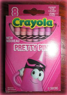 Crayola Limited Edition Tip Collection: Vigorous Hues Pretty Pink (Box of