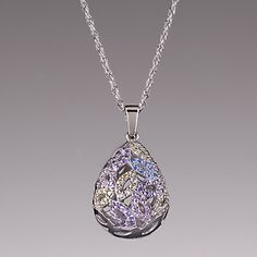 LENOX Jewelry: Necklaces - Gemmed Easter Egg Pendant Necklace