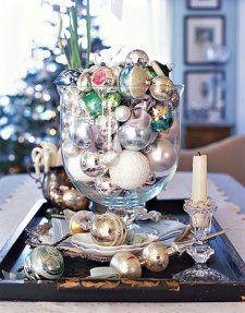 apothecary jar filler for Christmas