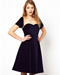 Lowie Velvet Prom Dress with Sheer Organza Panel