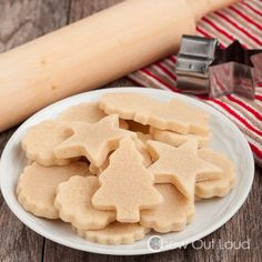 Vanilla Almond Cut-out Cookies 5