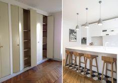 Photos de réalisations d'un décorateur d'intérieur qui vous montre ses avant après à Montpellier.