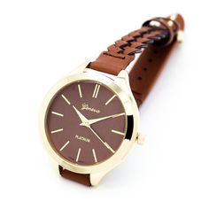 Moterey woven strap watch (3 colors)