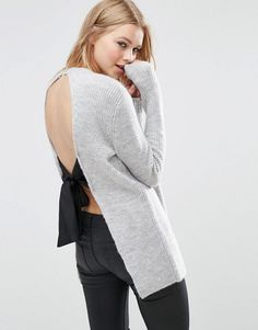 ASOS Sweater with Tie Back