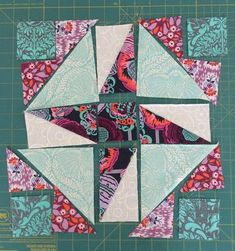 Jaffa quilts: Gypsy Wife Crazy Anne block {the one I'm not sure about}