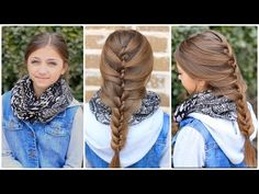 The Twist Braid video tutorial.   #braid #twist #cutegirlshairstyles #hairstyles #braids
