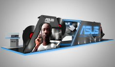 ASUS Exhibition on Behance