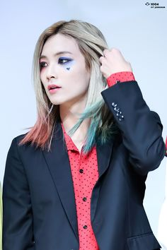 Yoon Jeonghan as Harley Quinn in Suicide Squad #futurehusband…