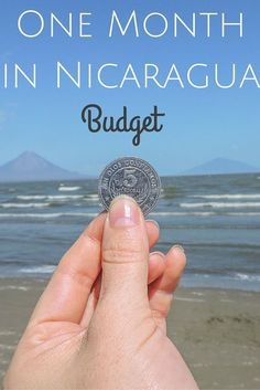 Nicaragua 'the new Costa Rica' and hell of a lot cheaper. Click the pin to find out how much one month backpacking in Nicaragua costs. Breakdown on accommodation, food, trips, transport included.