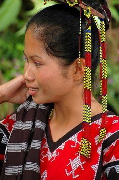 Tboli girl in Mindanao Philippines ©Image by Ronald de Jong, all rights reserved. philippineimpressions@gmail.com