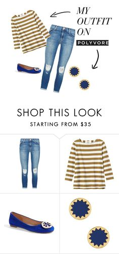 """cuteness"" by kcwesterbeek on Polyvore featuring J Brand, Toast, Tory Burch, House of Harlow 1960, women's clothing, women, female, woman, misses and juniors"