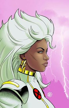 Storm from The X-Men and The Marvel Comic Universe. Marvel Comics, Marvel Xmen, Marvel Art, Storm Xmen, Storm Marvel, Comic Book Heroes, Comic Books Art, Comic Art, Marvel Girls