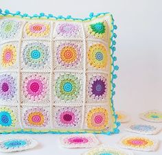Squricle square cushion