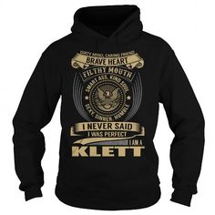 Awesome Tee KLETT Last Name, Surname T-Shirt T shirts