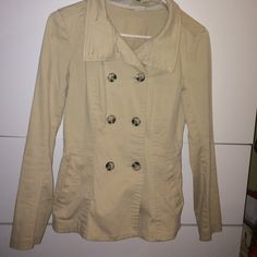 Tan jacket. Sz 4 I love it. But it doesnt fit me anymore  Divided Jackets & Coats