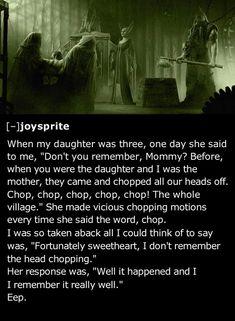 25 Creepiest Things Kids Have Told Their Parents | Team Jimmy Joe